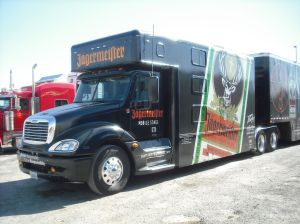 big truck full of the jager!